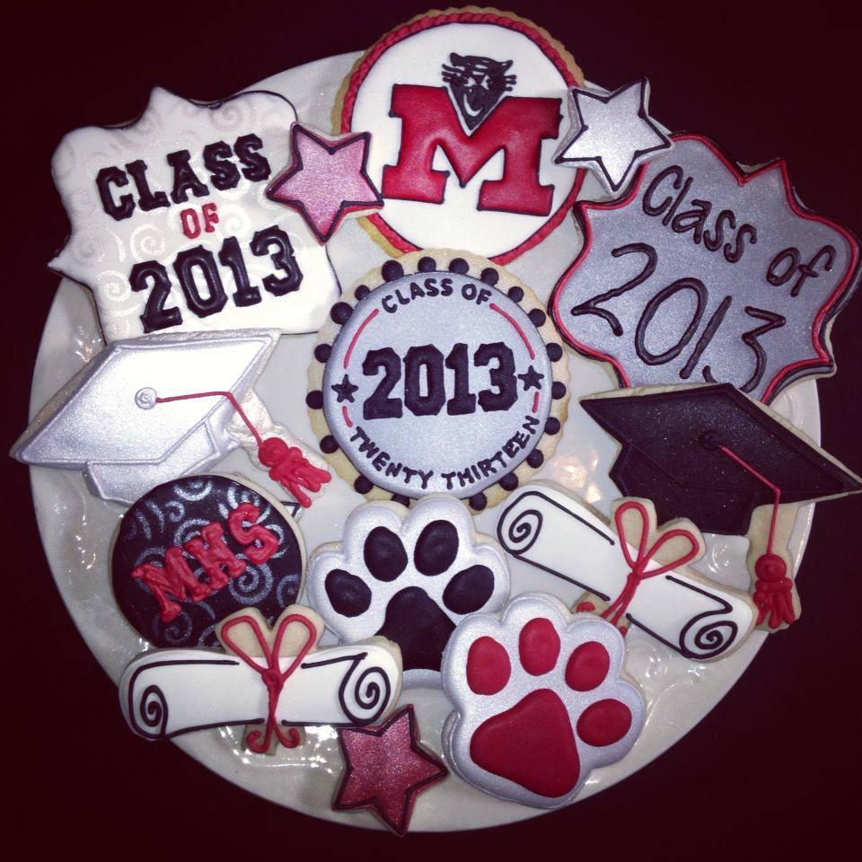 Graduation Cookies 2013