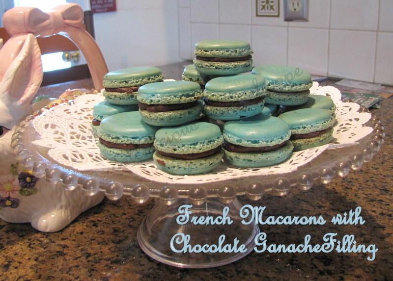 French Macarons w/ Chocolate Ganache