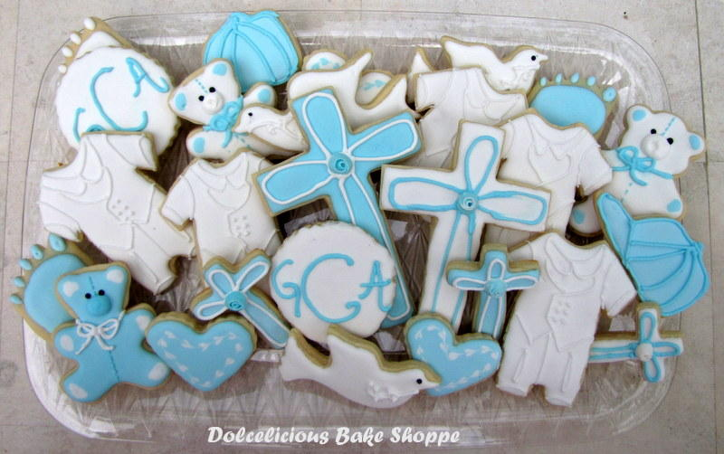 baby boy Christening set