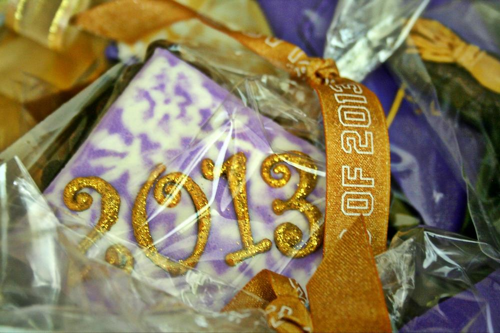 2013 Graduation Cookie