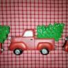 Christmas Truck w/Tree