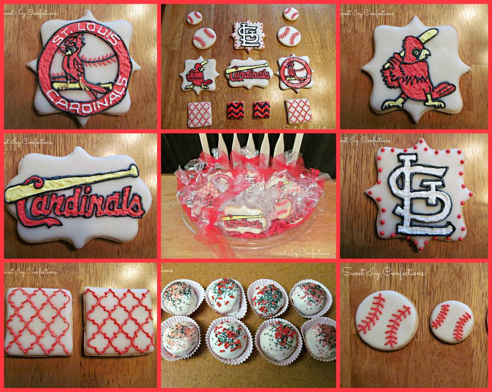 Awesome St Louis Cardinals Cookie Connection Funny Birthday Cards Online Fluifree Goldxyz