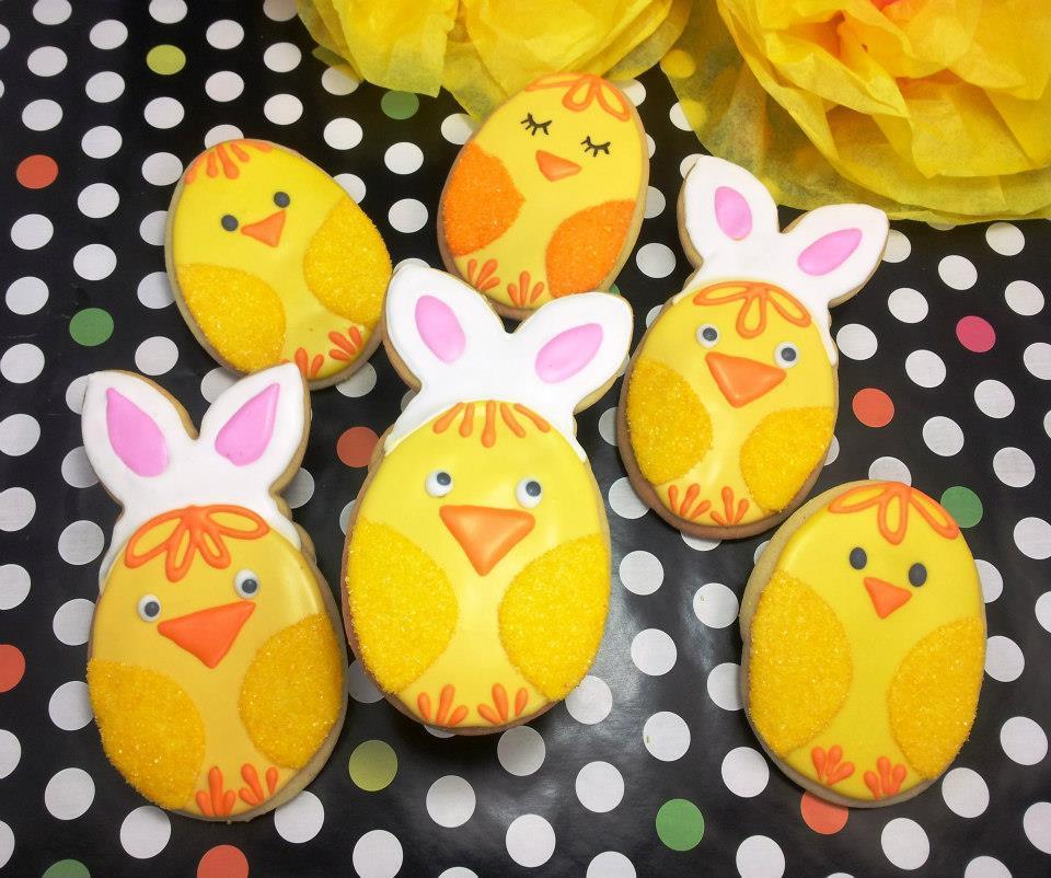 Mischievous Easter Chicks