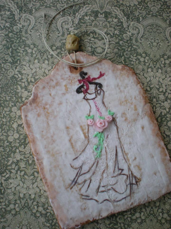 Romantic bridal dress