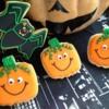 Halloween Bat and pumpkin