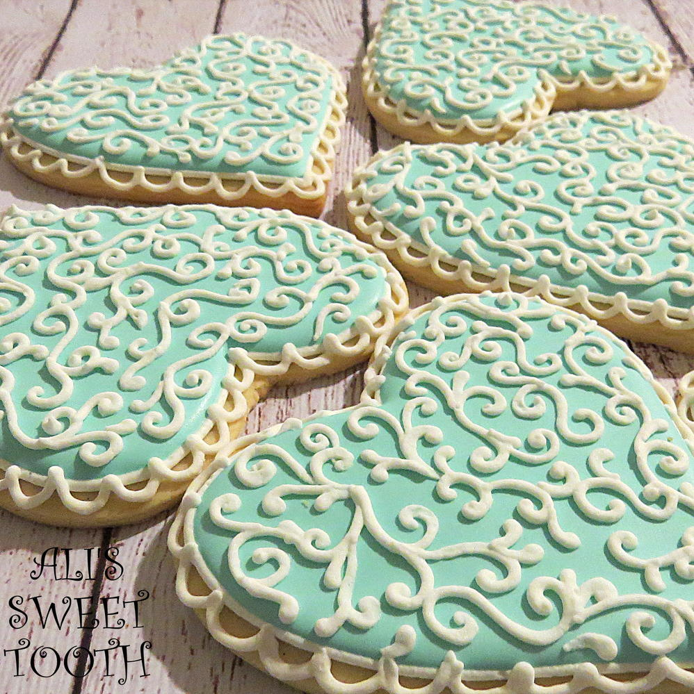 Ali's sweet tooth Tiffany Blue Hearts