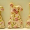 Vintage Blossoms Bunnies