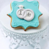 """I Do"" - Wedding Rings ~ ©The Cookie Connoisseur/Whisked Away Cookies"