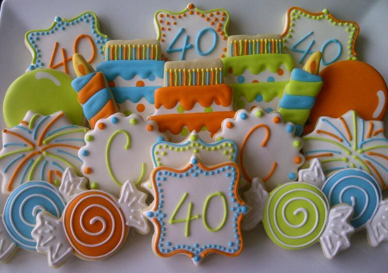 40th Birthday Set Cookie Connection
