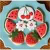 Summer Fruit Sugar Cookies