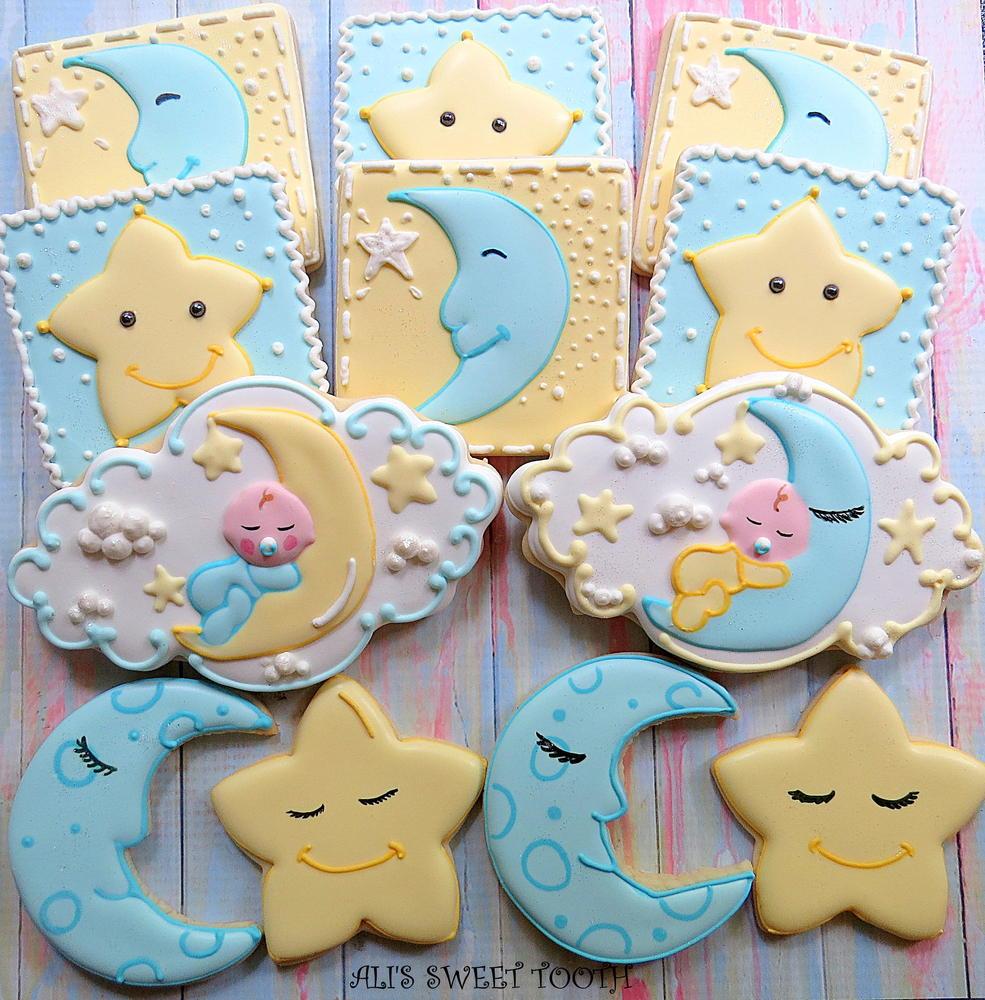 319 best Cookies: Baby Girl images on Pinterest  |Best Baby Shower Cookies
