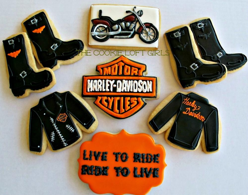Harley Davidson Cookies Cookie Connection