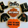 Harley-Davidson Cookies