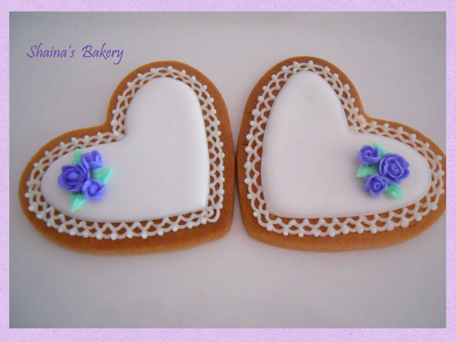 Wedding White Hearts