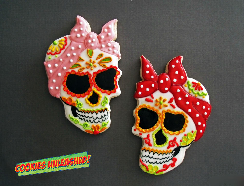 Chic Skulls Cookie Connection