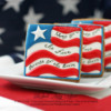 """""""The Land of the Free"""" 4th of July Cookie ~ ©The Cookie Connoisseur/Whisked Away Cookies"""