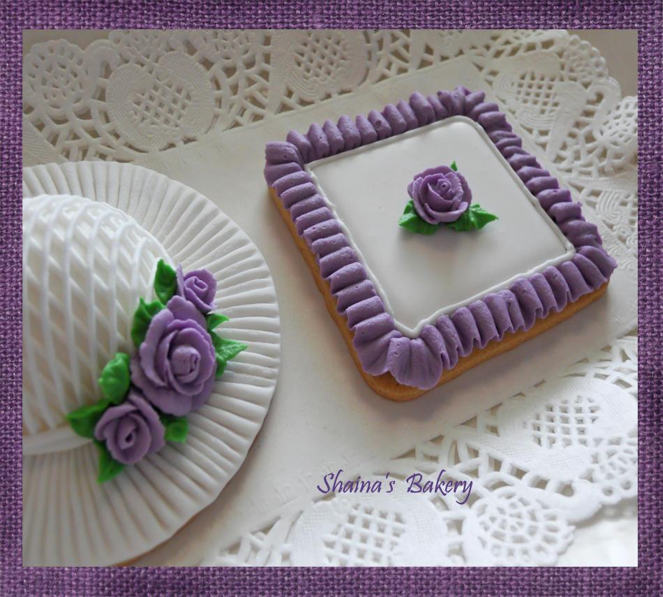 Wedding Violet Ruffle