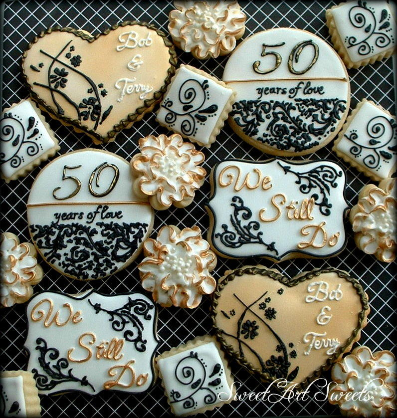 50th Anniversary Cookies Cookie Connection