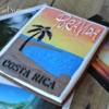 Costa Rican Sunset Postcard - Vintage Style