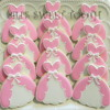 Ali's Sweet Tooth Pink princess cookies