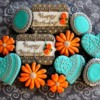 birthday cookies for Lilaloa's cookie challenge in June