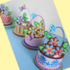 More 3-D Cookie Baskets