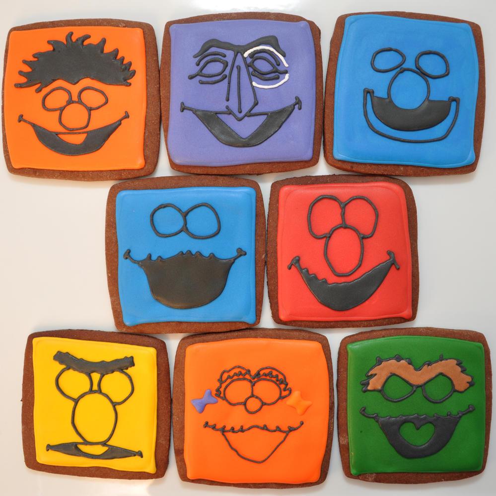 Sesame Street Silhouettes