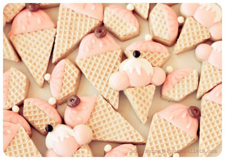 Vintage ice creams