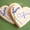 Monogrammed Bridal Shower Hearts!