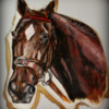 Custom Horse Portrait for 2012 Kentucky Derby
