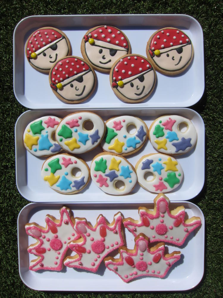 """These were for a 5th birthday. The girl was having a """"P"""" party - for ..."""