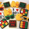 80's themed cookies (1)