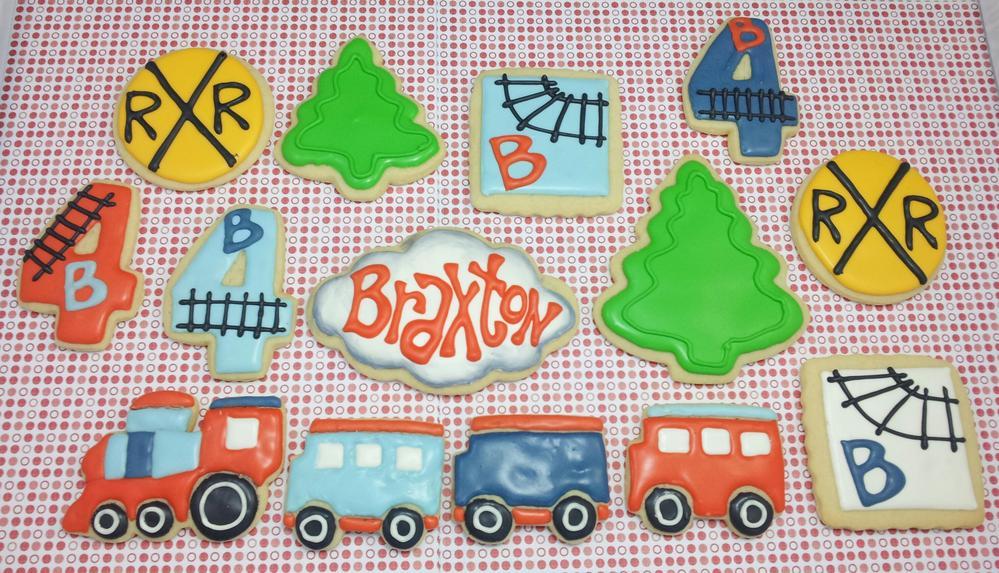 Birthday Train Set