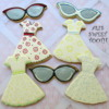 Ali's Sweet Tooth Retro Dresses & Cat eye Sunglasses