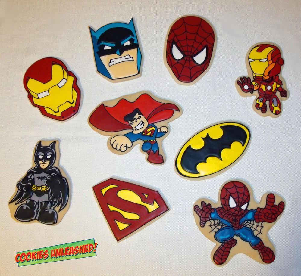 More Superheroes!