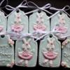 bunny ballerina cookies