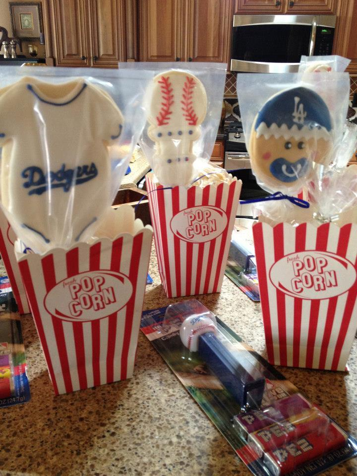 Baseball Baby Shower Favors | Cookie Connection