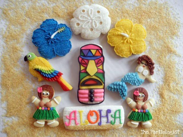 Aloha Sugar Cookies!