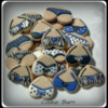 Bra/Panty Lingerie Bachelorette Decorated Cookies
