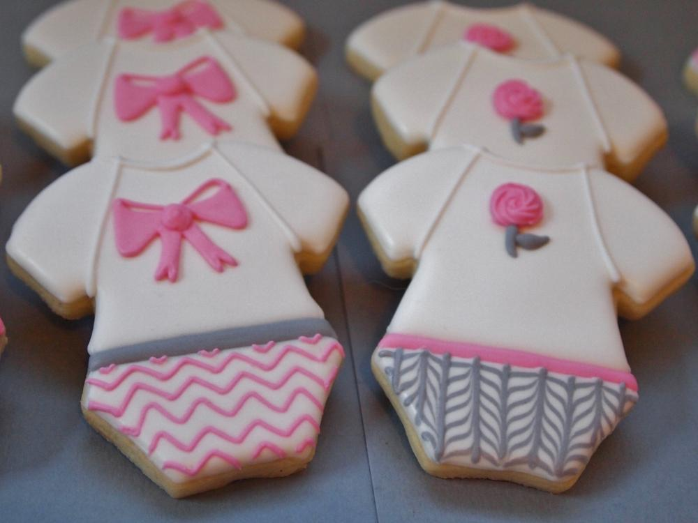 Pretty Baby Girl Onesies Cookies Cookie Connection