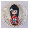 Kokeshi Doll Cookie