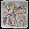 Beatrix Potter Peter Rabbit Cookies