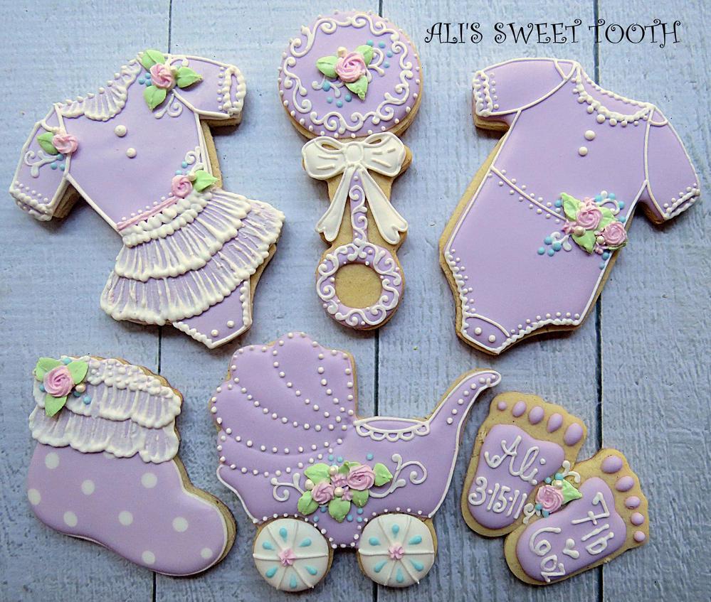 Aliu0027s Sweet Tooth Baby Shower Cookies