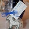 Zebra wedding favors