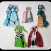 Vintage Dress Cookies