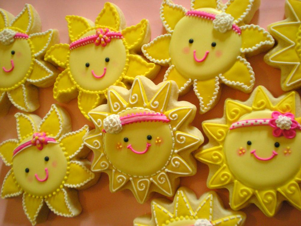 """""""You Are My Sunshine"""" Cookies"""
