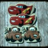 Cars/Lightning McQueen Mater Decorated Cookies