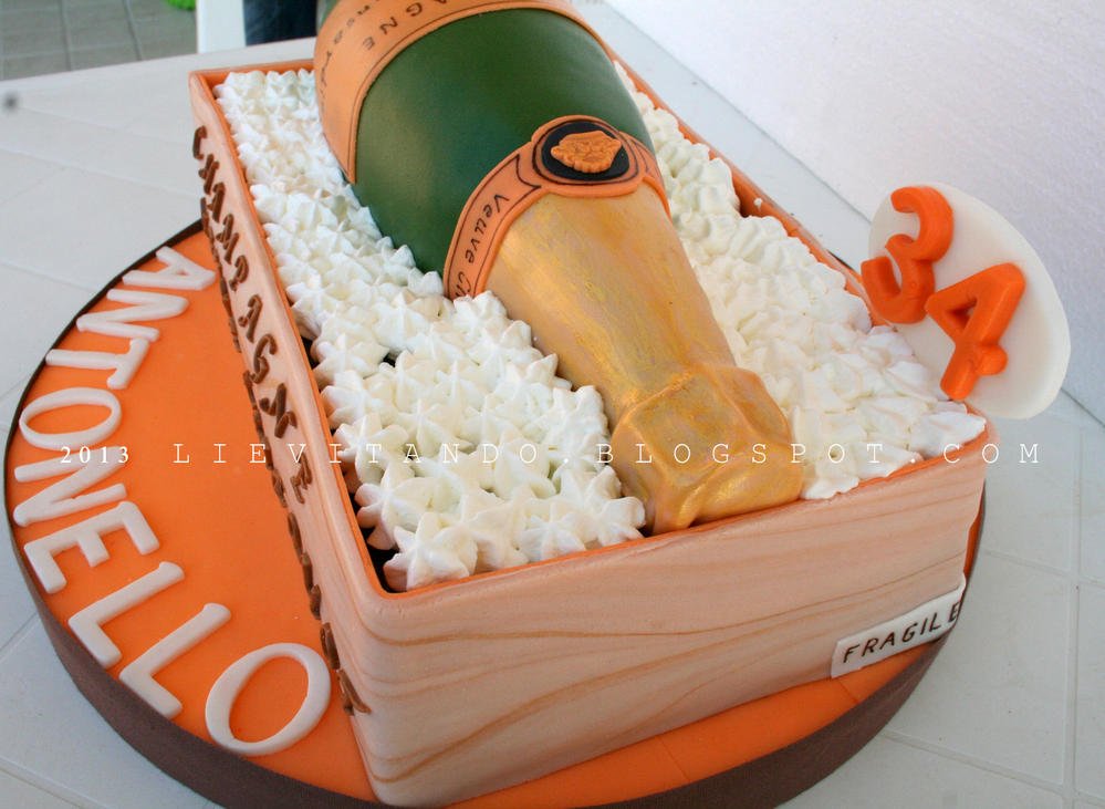 champagne, auguri