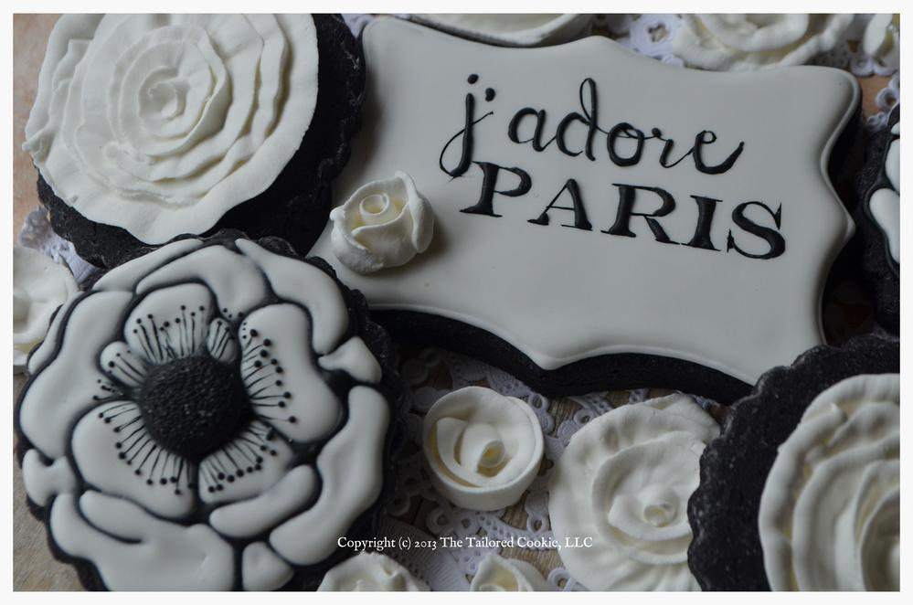 j'adore Paris 2 by The Tailored Cookie