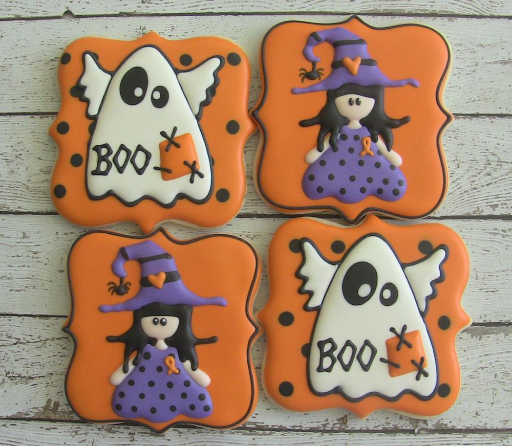 Halloween Cookies for Go Bo Foundation